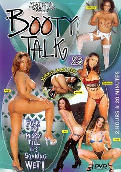 "Adult entertainment movie ""Booty Talk 23"" starring Cashmere Delight, Destany & Fantasy. Produced by West Coast Productions."