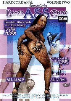 "Adult entertainment movie ""Black Ass Candy 2"" starring Jada, Kitten & Africa. Produced by West Coast Productions."