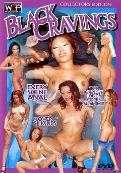 "Adult entertainment movie ""Black Cravings"" starring Bamboo, Olivia Saint & Harley Raine. Produced by West Coast Productions."