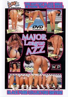 "Adult entertainment movie ""Major League Azz"" starring Diana Devoe & Cinna Bunz. Produced by West Coast Productions."