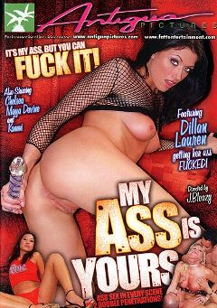 "Adult entertainment movie ""My Ass Is Yours"" starring Keiko Nakahata, Dillan Lauren & Chelsea Zinn. Produced by Antigua Pictures."
