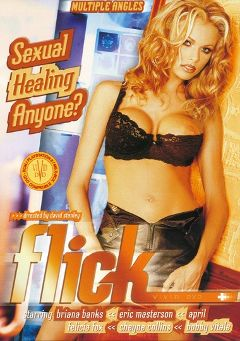 "Adult entertainment movie ""Flick"" starring Briana Banks, April Flowers & Cheyne Collins. Produced by Vivid Entertainment."
