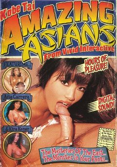 "Adult entertainment movie ""Amazing Asians"" starring Kira Kener, Kobe Tai & Asia Carrera. Produced by Vivid Entertainment."