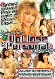 "Just Added presents the adult entertainment movie ""Barbara Dare Up Close And Personal""."