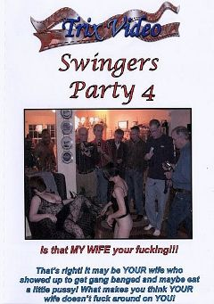 "Adult entertainment movie ""Swingers Party 4"" starring Nora, Tara & Amanda. Produced by Trix Productions."