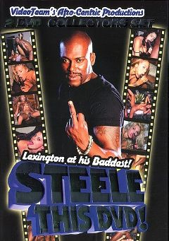 "Adult entertainment movie ""Steele This DVD"" starring Blazer, Cinna Bunz & Inari Vachs. Produced by Video Team."
