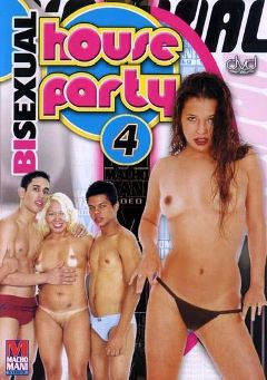 "Adult entertainment movie ""Bisexual House Party 4"". Produced by Macho Man Video."
