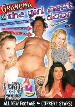 "Adult entertainment movie ""Grandma And The Girl Next Door"". Produced by Legend."