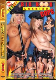 """Just Added presents the adult entertainment movie """"Big Boob Lesbian Cops""""."""