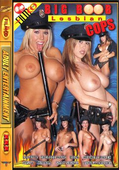 "Adult entertainment movie ""Big Boob Lesbian Cops"" starring Kianna Dior, Shelbee Myne & Misty Mendez. Produced by Filmco."