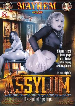 "Adult entertainment movie ""Assylum"" starring Nicki Hunter, Flower Tucci & Barbara Summer. Produced by Mayhem XXX."