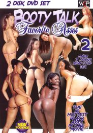 "Just Added presents the adult entertainment movie ""Booty Talk: Favorite Asses 2""."