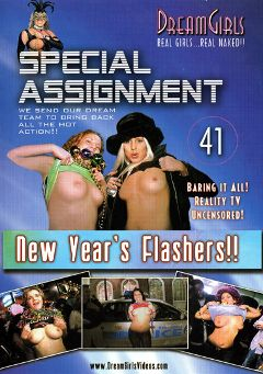 "Adult entertainment movie ""Special Assignment 41: New Year's Flashers"". Produced by Dream Girls."