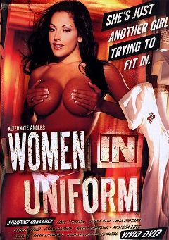 "Adult entertainment movie ""Women in Uniform"" starring Mercedez (I), Aspen Rain & No Name Jane. Produced by Vivid Entertainment."