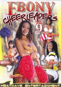 "Adult entertainment movie ""Ebony Cheerleaders 9"" starring Hypnotiq, Hot Chocolate & Julian St. Jox. Produced by Heatwave Entertainment."