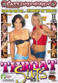 "Adult entertainment movie ""Throat Sluts 3"" starring Tiffany Clark, Mya Mason & Daphne Rosen. Produced by Fatt Entertainment."