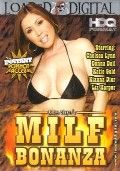 "Adult entertainment movie ""MILF Bonanza"" starring Kianna Dior, Donna Doll & Trent Soluri. Produced by Loaded Digital."