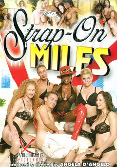 "Adult entertainment movie ""Strap-On Milfs"" starring Kayla Quinn, Vanessa & Annie Body. Produced by Legend."