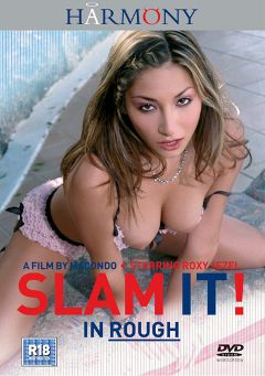 "Adult entertainment movie ""Slam It In Rough"" starring Roxy Jezel, McKenzie Lee & Carla *. Produced by Harmony Films Ltd.."