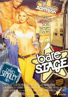 "Adult entertainment movie ""Bare Stage"" starring Savanna Samson, Peter Shaft & Vincent Vega. Produced by Vivid Entertainment."