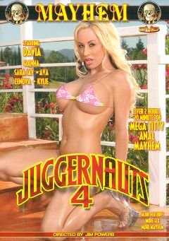 "Adult entertainment movie ""Juggernauts 4"" starring Davia Ardell, Kylie G. Worthy & Gianna Michaels. Produced by Mayhem XXX."