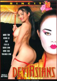 "Featured Category - Double Penetration presents the adult entertainment movie ""Deviasians""."