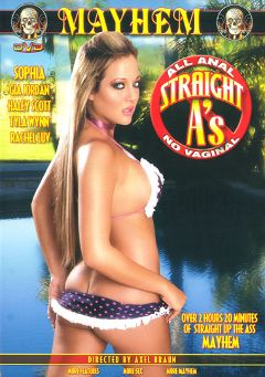 "Adult entertainment movie ""Straight A's"" starring Haley Scott, Tyla Wynn & Sophia. Produced by Mayhem XXX."