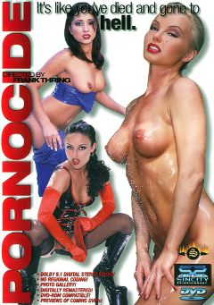 "Adult entertainment movie ""Pornocide"" starring Daniella Rush, Alexis Amore & Silvia Saint. Produced by Sin City."
