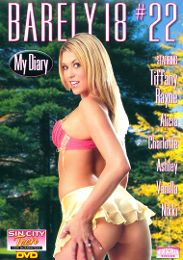 """Just Added presents the adult entertainment movie """"Barely 18: 22""""."""