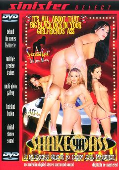 "Adult entertainment movie ""Shake Ya' Ass"" starring Cindy, Estelle Laurence & Gia. Produced by Sinister Production."