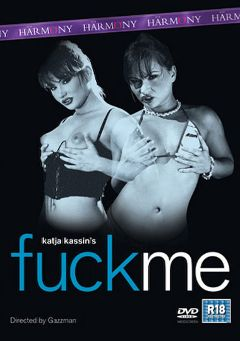 "Adult entertainment movie ""Katja Kassin's Fuck Me"" starring Katja Kassin, Lucy Lee (f) & Sarah Twain. Produced by Harmony Films Ltd.."