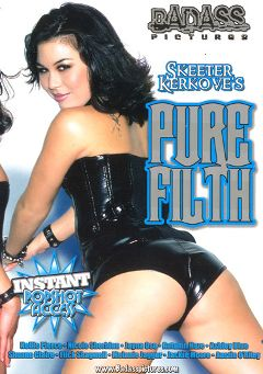 "Adult entertainment movie ""Pure Filth"" starring Jayna Oso, Ashley Blue & Alex Wooden. Produced by Metro Media Entertainment."