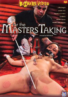 "Adult entertainment movie ""For The Masters Taking"" starring Annie Cruz, Master Aaron & Vandalia. Produced by Bizarre Video Productions."