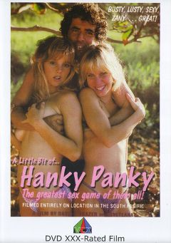 "Adult entertainment movie ""A Little Bit Of Hanky Panky"" starring Crystal Holland, Jacy Allen & Sandra Holland. Produced by VCX Home Of The Classics."