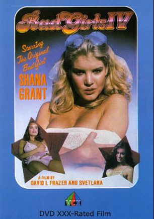 Bad Girls 4, starring Shauna Grant, Lauren Wilde, Susan Hart, Greg Nett, Lorelei Rand, Kathy Kay, Holly Christian, Monique Gabrielle, Kristie Mann, Rikki Blake, Tina Marie, Cara Lott, Svetlana, Kitten Natividad, Gail Sterling, Pat Manning, Laurie Smith, Lynn Francis, Gloria Leonard, Rachel Ashley, Richard Pacheco, Jamie Gillis, Jerry Butler and Ron Jeremy, produced by VCX Home Of The Classics.