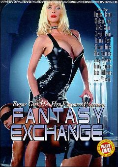 "Adult entertainment movie ""Fantasy Exchange"" starring Angela Baron, Valeria & Krysti Lynn. Produced by Vivid Entertainment."