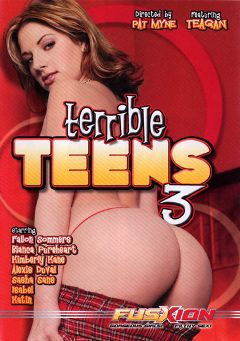 "Adult entertainment movie ""Terrible Teens 3"" starring Vickie Powell, Teagan Presley & Jessica Sweet. Produced by Metro Media Entertainment."