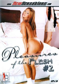 "Adult entertainment movie ""Pleasures Of The Flesh 2"" starring Claudia Jamsson, Lea De Mae & Rita Faltoyano. Produced by New Sensations."