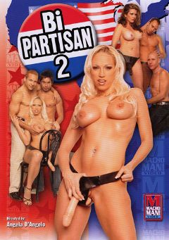 "Adult entertainment movie ""Bi-Partisan 2"" starring Nicki Hunter, Antonio O'Ryan & Kai. Produced by Macho Man Video."