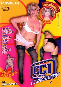 "Adult entertainment movie ""CC1-XXXL Ciccione Arrapate"". Produced by Pinko Enterprises."