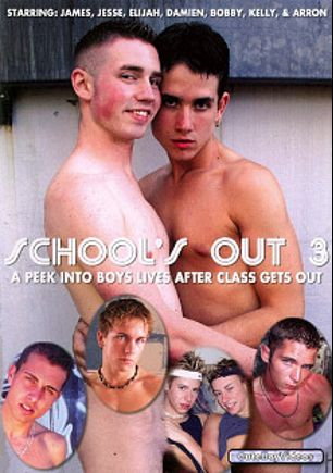 School's Out 3, starring Kelly Taylor (m), Damien *, Bobby Sparks, Aaron Collins, Jesse McCarthy, Elijah Evans and James *, produced by CuteBoyVideos.