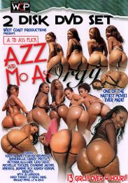 """Just Added presents the adult entertainment movie """"Azz And Mo Ass Orgy: Part  2""""."""