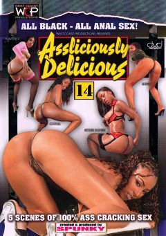 "Adult entertainment movie ""Assliciously Delicious 14"" starring Rayven Samour, Honey Dip & Chyna Red. Produced by West Coast Productions."