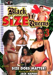 "Just Added presents the adult entertainment movie ""Black Size Queens 3""."