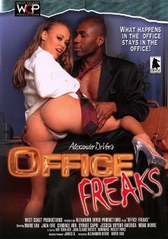 "Adult entertainment movie ""Office Freaks"" starring Mone Divine, Jessica Voyer & America Moore. Produced by West Coast Productions."