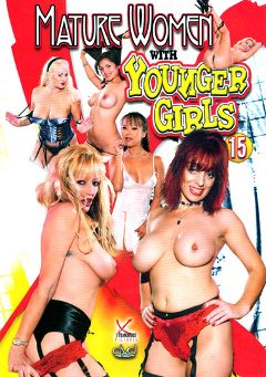 "Adult entertainment movie ""Mature Women With Younger Girls 15"" starring Sweet Pea, Dana Hayes & Mia Smiles. Produced by Legend."