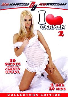 "Adult entertainment movie ""I Love Carmen 2"" starring Carmen Luvana, Talon & Kayla Paige. Produced by New Sensations."