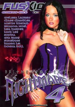 "Adult entertainment movie ""Nightmare 4"" starring Austin Kincaid, Melissa Lauren & Liza Harper. Produced by Metro Media Entertainment."