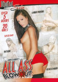 "Adult entertainment movie ""All Ass Blow Out Part 2"" starring Taylor Rain, Lucy Lee (f) & Haley Paige. Produced by Digital Sin."