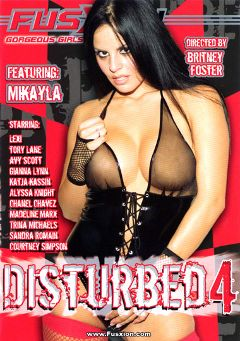 "Adult entertainment movie ""Disturbed 4"" starring Alyssa Knight, Courtney Simpson & Chanel Chavez. Produced by Metro Media Entertainment."